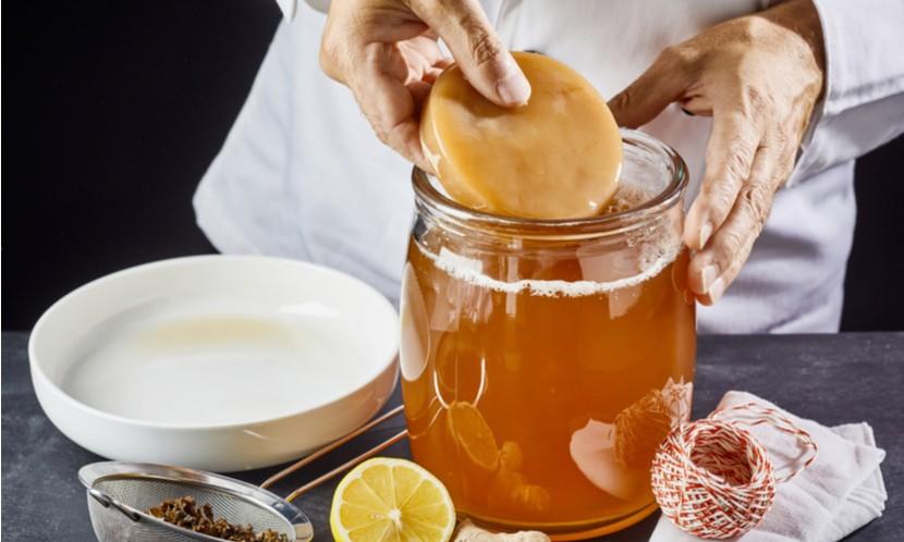 recettes kefir et kombucha